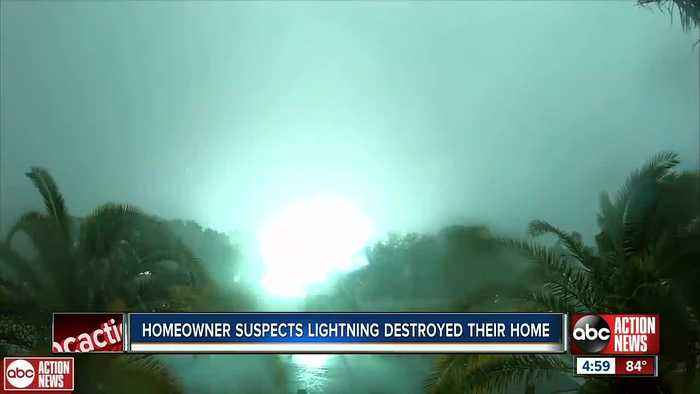 Lightning destroys Riverview home, how to prevent it from happening to you