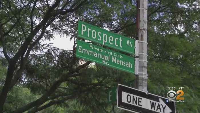 Belmont Street Renamed For Soldier Who Died In Deadly Fire