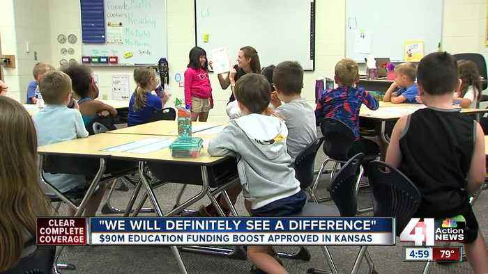 Top KS court OKs school funding but refuses to close lawsuit