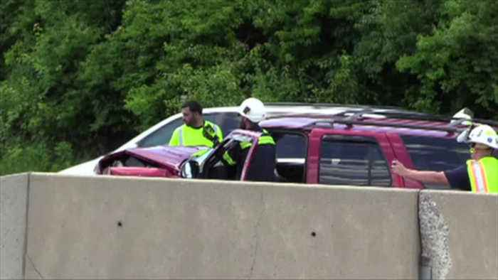 VIDEO Route 22 westbound in Hanover Twp. reopens after crash