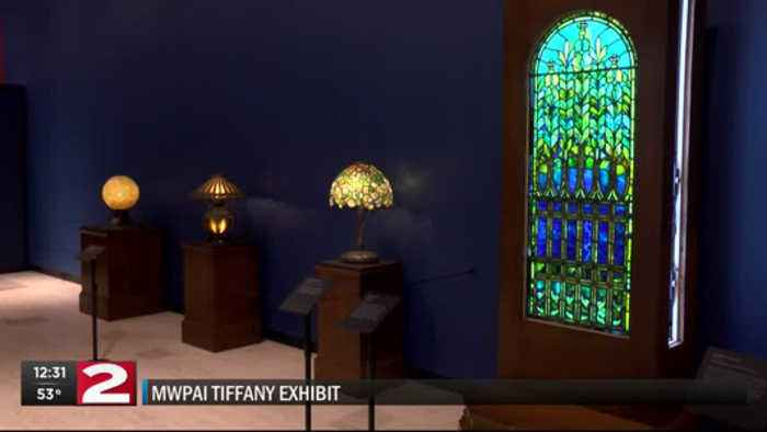 Tiffany collection on display at Munson Williams Proctor Arts Institute