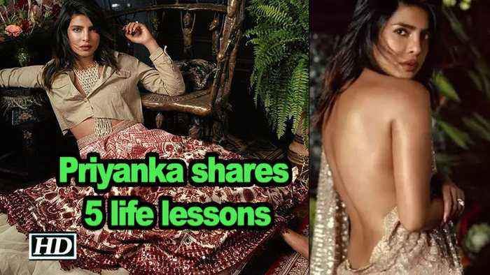 Priyanka shares 5 life lessons: Have nothing to hide