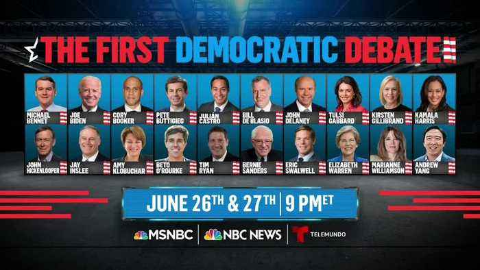 Stage set for first Democratic presidential debate