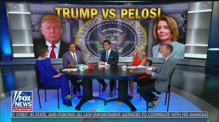 Fox's Juan Williams and Jesse Watters lock horns over Trump comments