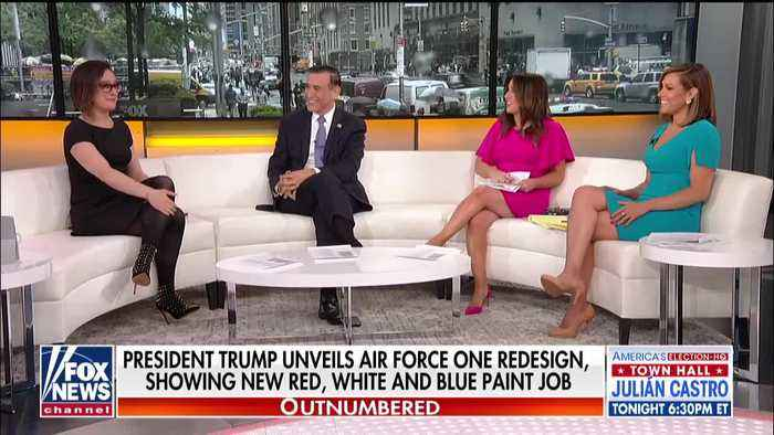 """""""Outnumbered"""" discussion on Dems' attempt to block Air Force one changes"""