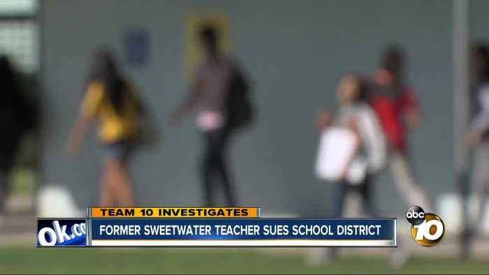 Former Sweetwater teacher sues school district