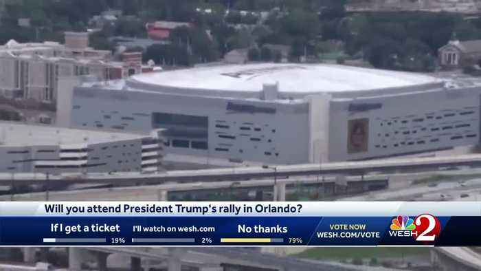 President Trump to hold rally in downtown Orlando