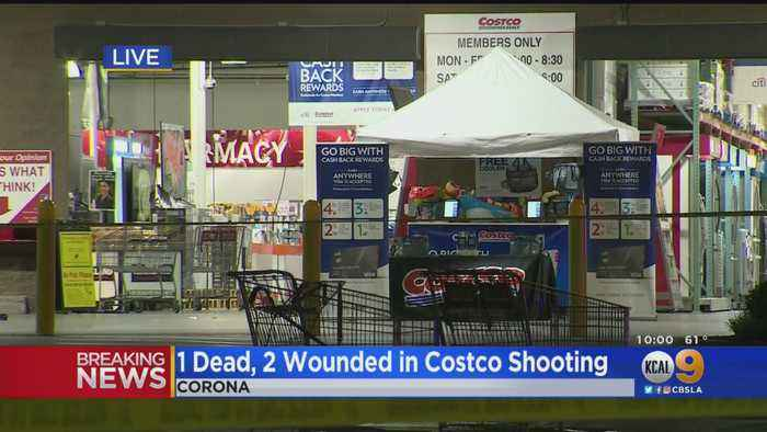 1 Dead, 2 Wounded In Shooting At Corona Costco