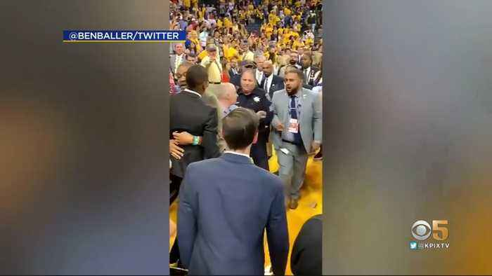 Alameda County Sheriff's Office Recommending Charges Against Raptors President