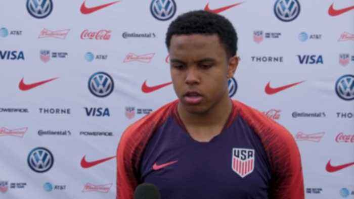 McKennie: 'We want to progress, we want to develop our style'