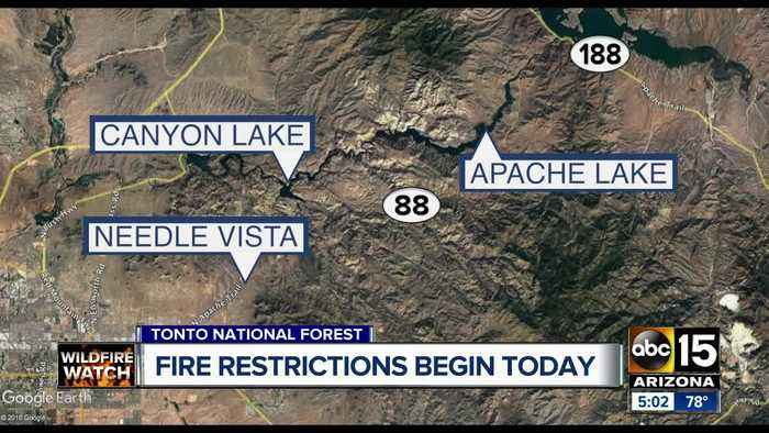 Weekend wildfire restrictions