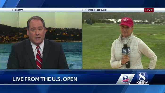 Moving day at the U.S. Open