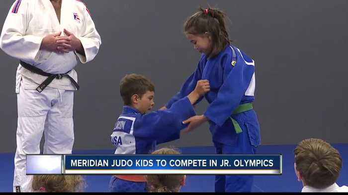 Meridian Judo players prepare to compete in Junior Olympics