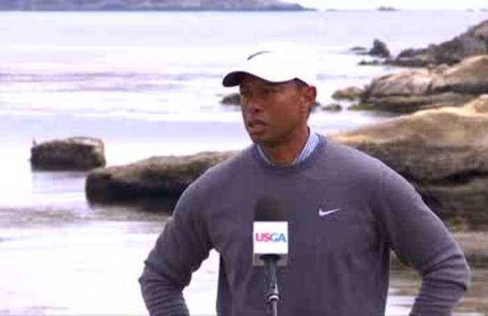 Woods feeling positive despite bad start, McDowell pleased with progress after eagle on 18