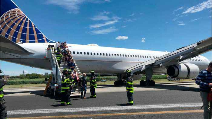 No Injuries After United Jet Has 'Multiple Tires' Blow On Landing In Newark