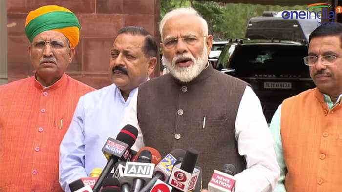 PM Modi states to Forget Numbers, Opposition's Words are valuable | Oneindia News
