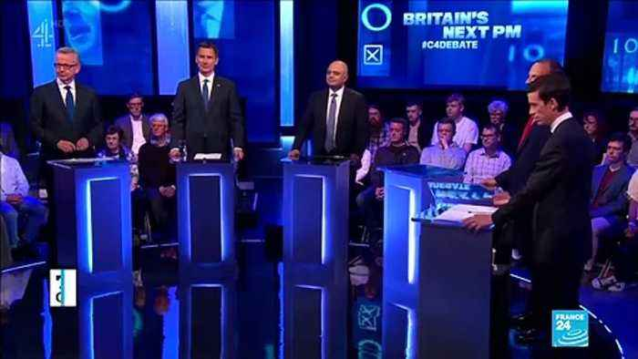 First debate in UK for Conservative leadership without Boris Johnson