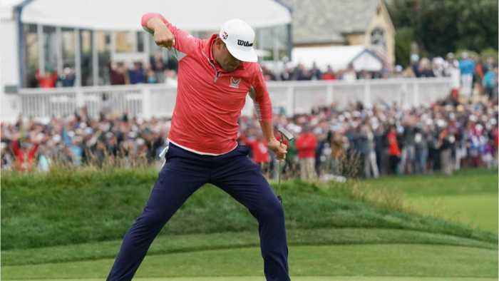 Gary Woodland wins U.S. open