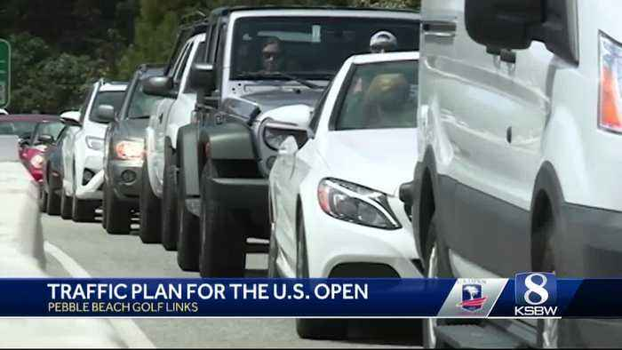 USGA and Pebble Beach Company prepares a traffic plan three years ahead of the U.S. Open