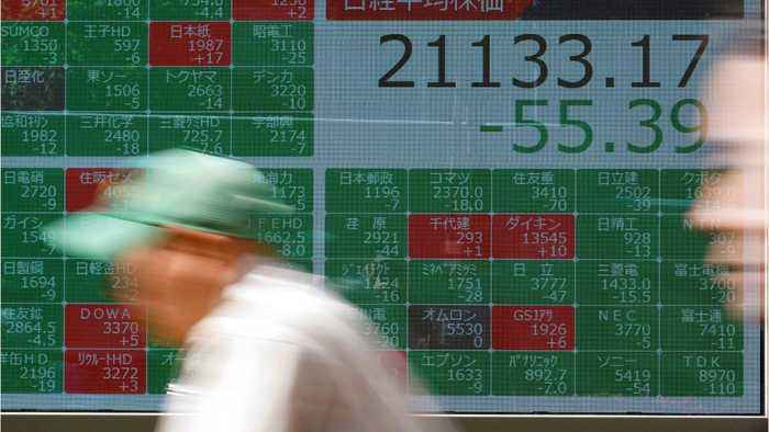 Asian Shares Wobble On Trade, Political Tensions