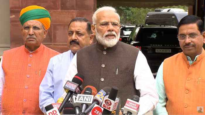 'Vigilant opposition crucial,' PM Modi ahead of Parliament inaugural session