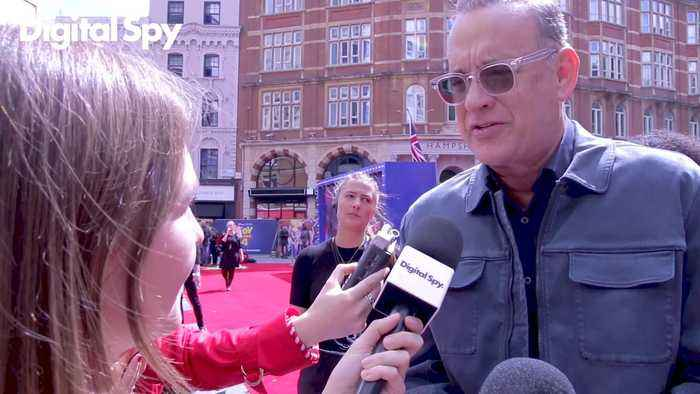 Tom Hanks on Making Toy Story 4 - Red Carpet Interview