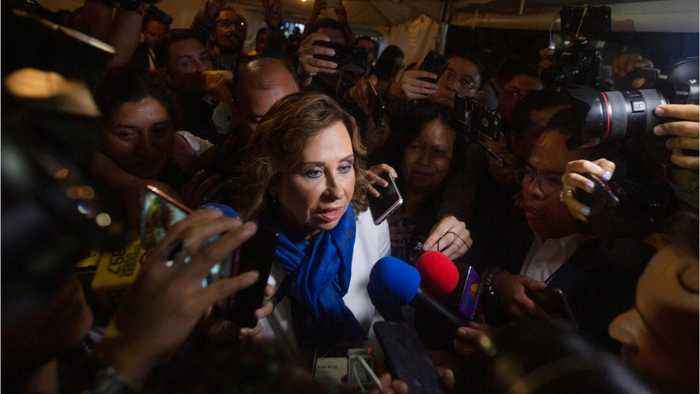 First Lady Leads Guatemala Election