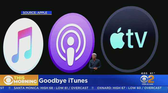 CNET Tech Minute: Goodbye iTunes, Hello Trio Of New Apps