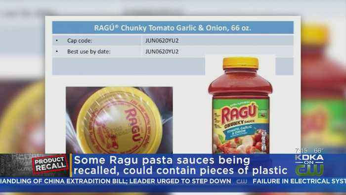 Ragu Pasta Recall: Some Sauces May Contain Plastic Fragments