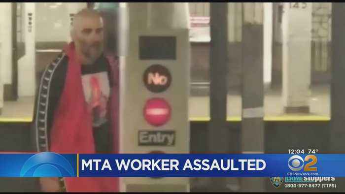Manhunt On For Man Who Attacked MTA Worker In Harlem