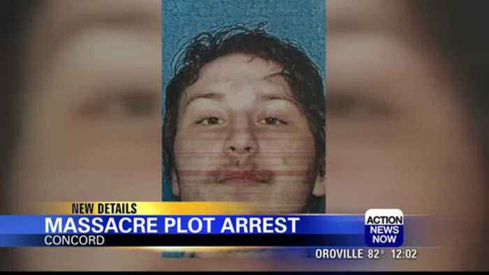 Bay Area man faces charges for plotting massacre: Concord police