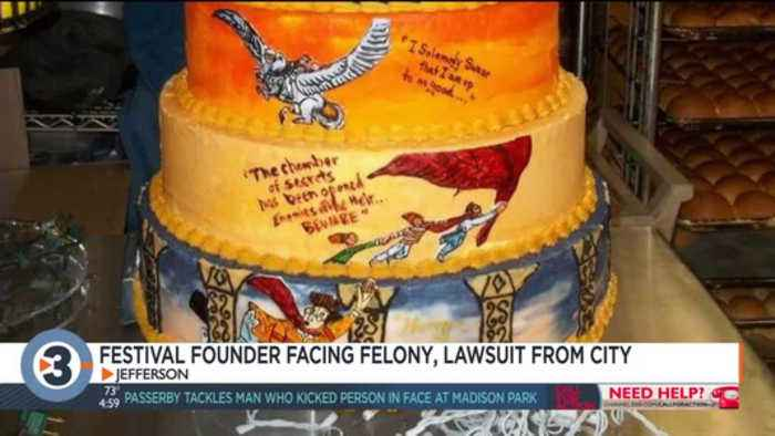 Warriors and Wizards Festival founder facing felony for theft, lawsuit from city of Jefferson