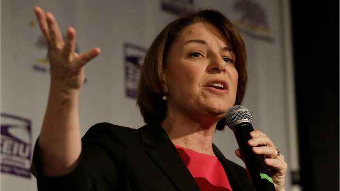 Amy Klobuchar Unveils First 100 Day Plan