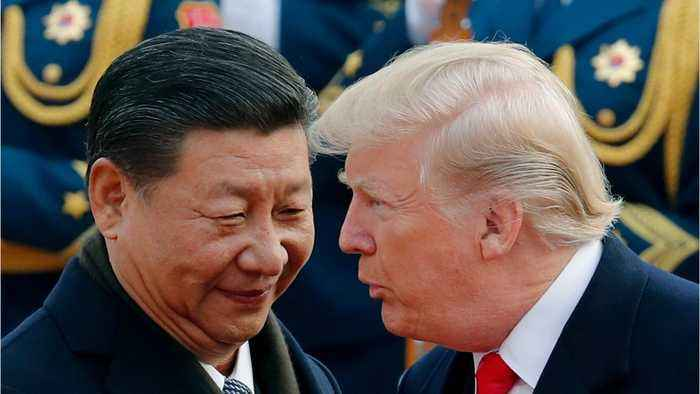 Trump Tweets About Resuming Trade Talks With China