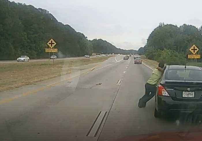 Man Dragged Down Highway During Road Rage Incident in Georgia
