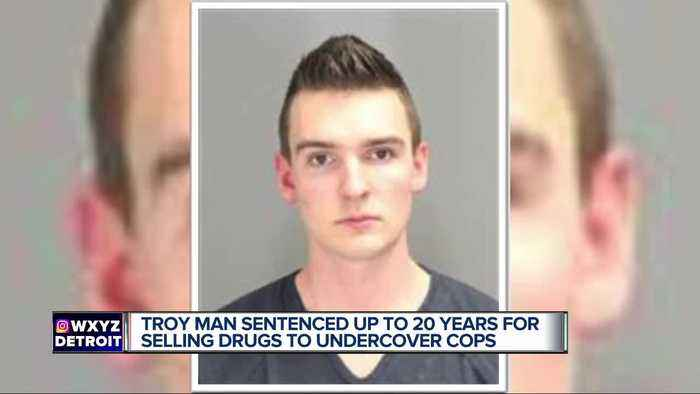 Troy man featured on Netflix series 'Dope' gets 3-20 years for drug trafficking