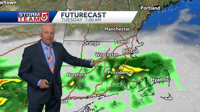 Video: Beautiful weather won't last with oncoming showers