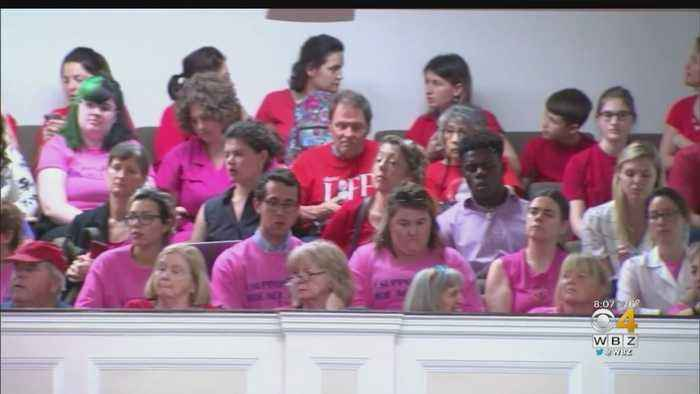 Abortion Foes, Supporters Pack Hearing At Mass. Statehouse