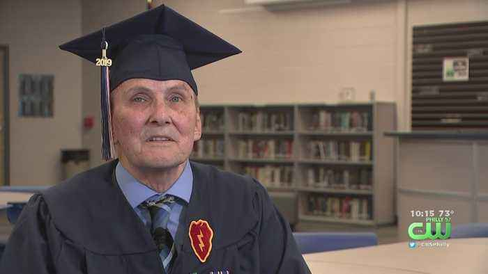Vietnam Veteran Receives High School Diploma 50 Years Later In South Jersey