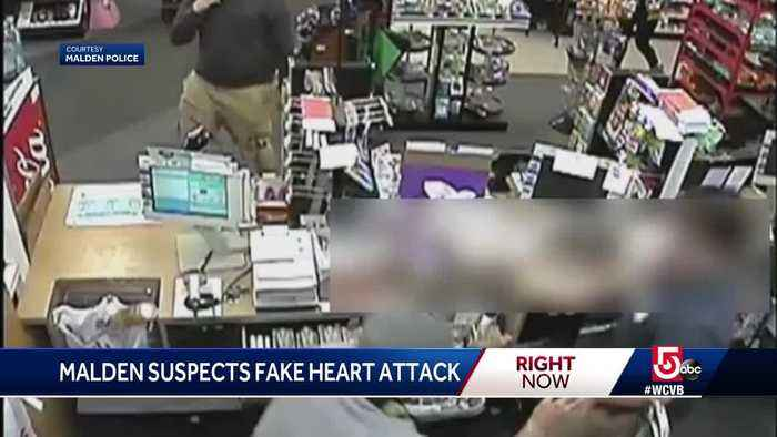 Fake heart attack used to distract clerk in Malden robbery