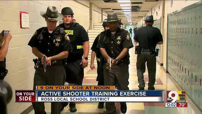 Large-scale active shooter exercise in Butler County today