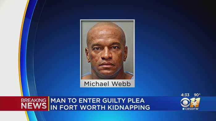 Suspect Michael Webb To Plead Guilty To Kidnapping 8-Year-Old Girl In Fort Worth