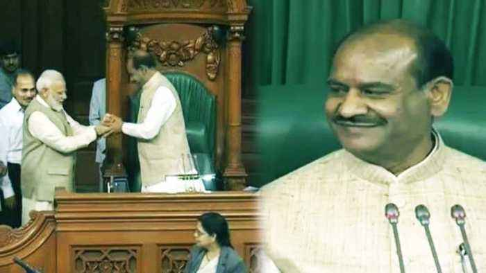 Om Birla becomes Lok Sabha Speaker, PM Modi leads him to Chair | Oneindia News