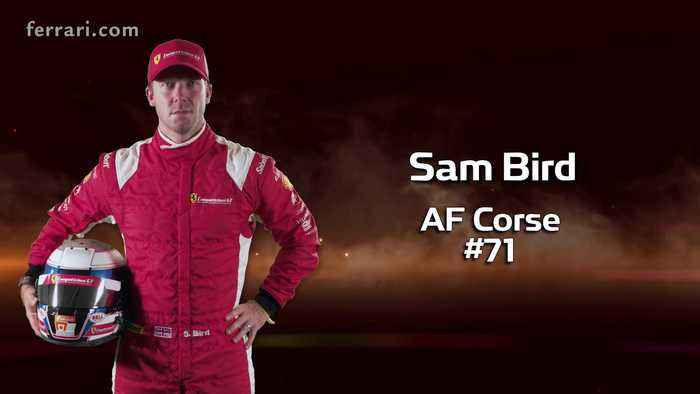 24 Hours of Le Mans 2019 - Competizioni GT Sam Bird
