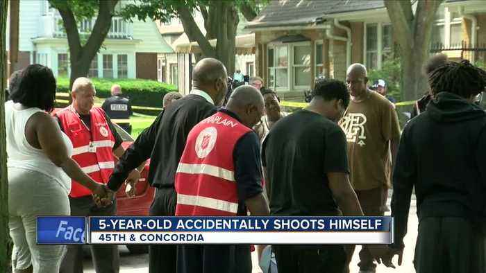 Second 5-year-old boy dies in an accidental shooting the area in less than 24 hours