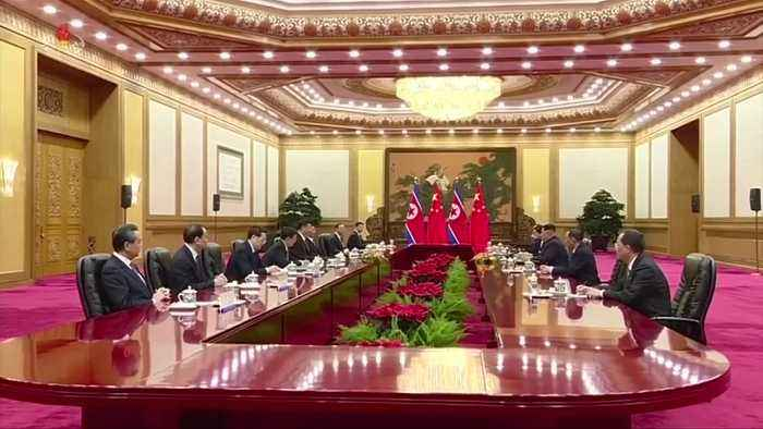 China's Xi is on his way to Pyongyang