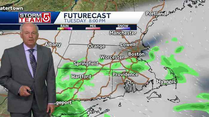 Video: Damp, muggy weather continues through night