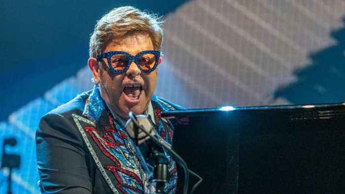 Sir Elton John to receive France's Top Honour ahead of Paris gig