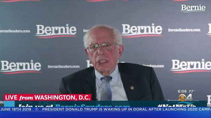 Bernie Sanders' Scathing Response To President Trump's Re-Election Campaign Rally