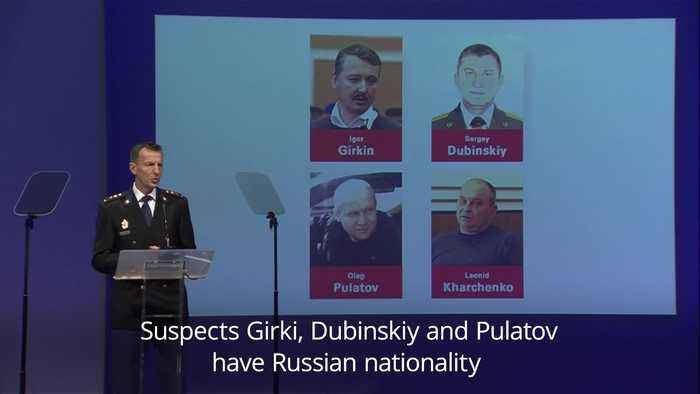 Dutch police chief names murder suspects in MH17 downing